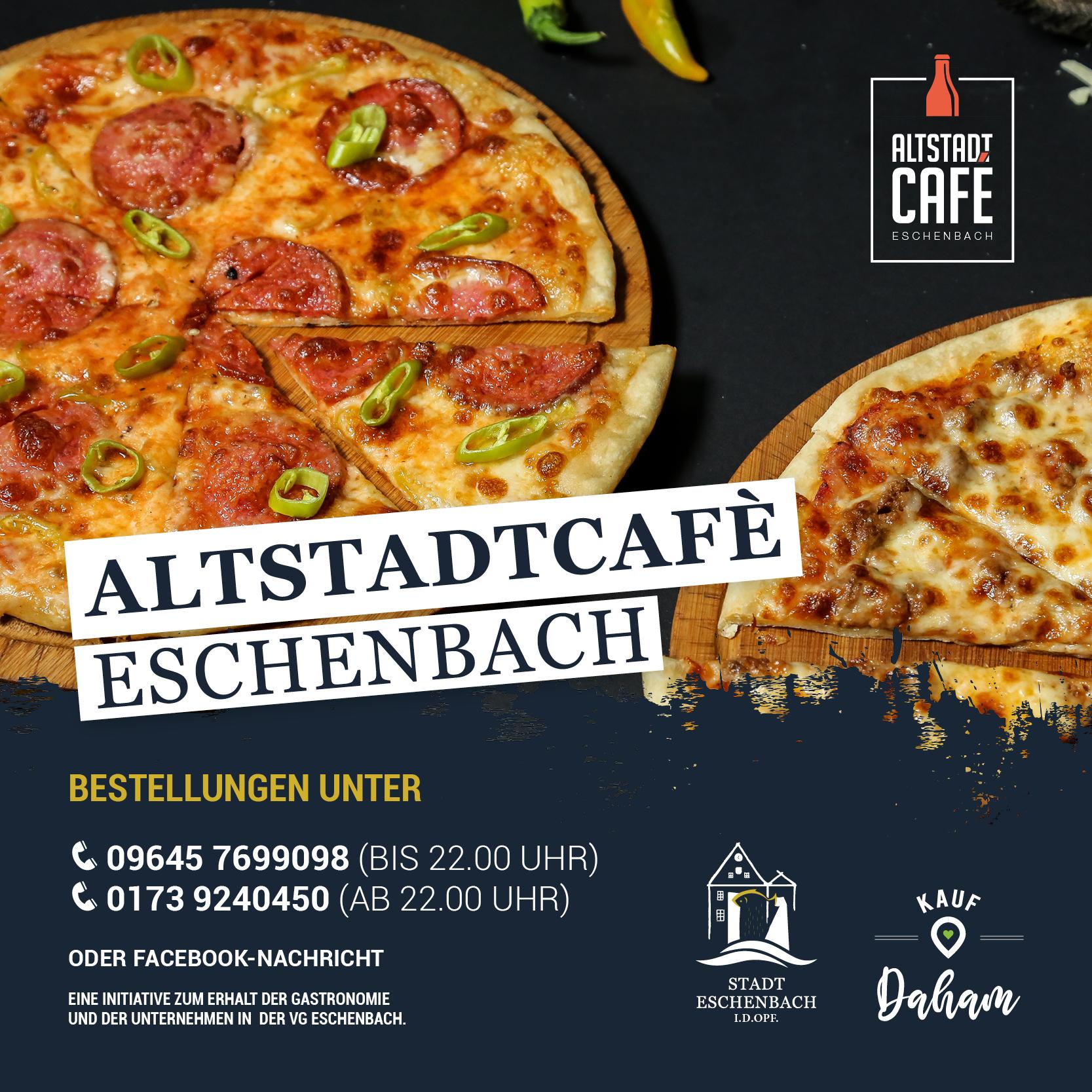 Eschenbach bleibt lebendig – Altstadtcafé Eschenbach